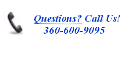 questions? Call us at 360-600-9095!