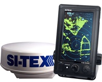 SI-TEX T761 Touch Screen Compact Color Radar